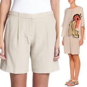 Silk Piazza Sempione Bermuda Shorts